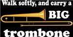 Funny Trombone Quote Dark T-shirts