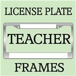 TEACHER TEACHING LICENSE FRAMES
