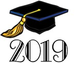 2019 Graduation Hat T-shirts And Gift