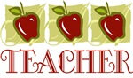 Apple Teacher T-shirts And Gifts