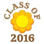 Sunflower CLASS OF 2016 T-SHIRTS