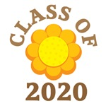 SUNFLOWER DESIGN CLASS OF 2020 GIFTS AND T-SHIRTS