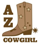 Arizona Cowgirl T-shirts Gifts