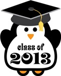 Penguin Class Of 2013 T-shirts and Graduation Gift