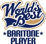 Worlds Best Baritone Player T-shirts
