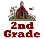 2nd Grade Schoolhouse T-shirts