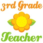 3rd Grade Teacher Sunflower