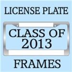 CLASS OF 2013 LICENSE PLATE FRAMES