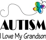 Autism I Love My Grandson T-shirts