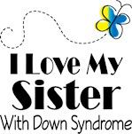 Down Syndrome Sister Awareness Gifts