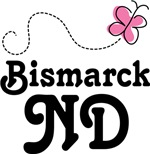 Bismarck North Dakota Butterfly T-shirts and Gifts