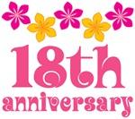 18th Anniversary Gift Hawaiian Themed