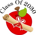 Apple Diploma Class Of 2030 Graduation Gifts