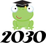 Fun Frog Graduate 2030 Apparel
