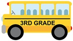 3rd GRADE SCHOOL BUS GIFTS AND T SHIRTS
