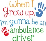 Future Ambulance Driver Kids T-shirts