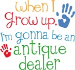Future Antique Dealer Kids T-shirts