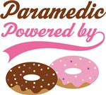 Paramedic Powered By Doughnuts Gift T-shirts
