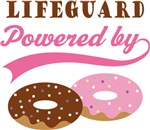 Lifeguard Powered By Doughnuts Gift T-shirts