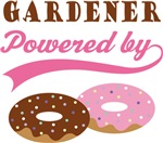 Gardener Powered By Donuts Gift T-shirts
