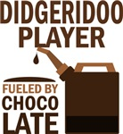 Digeridoo Player Fueled By Chocolate Gifts