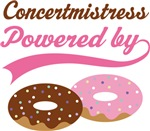 CONCERTMISTRESS FUNNY DONUT MUSIC T-SHIRT GIFTS
