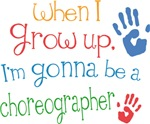 Future Choreographer Kids T-shirts
