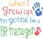 Future Hr Manager Kids T-shirts