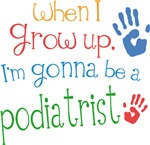 Future Podiatrist Kids T-shirts