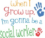 Future Social Worker Kids T-shirts