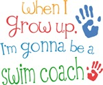Future Swim Coach Kids T-shirts