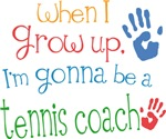 Future Tennis Coach Kids T-shirts