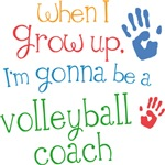 Future Volleyball Coach Kids T-shirts