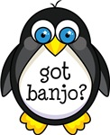 Banjo Music Penguin T-shirts and Gifts