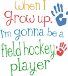 Future Field Hockey Player Kids T-shirts