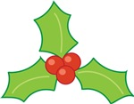Christmas Holly T-shirts and Gifts