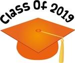 2019 School Class Graduation (Orange)