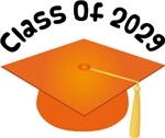 2029 School Class Graduation (Orange)