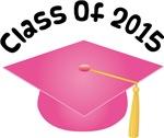 2015 School Class Graduation (Pink)