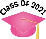 2021 School Class Graduation (Pink)