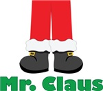 Mr. Claus Christmas Couples T-shirts