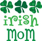 IRISH MOM SHAMROCK T-SHIRTS