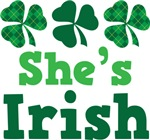 She's Irish Couples Tees For Men