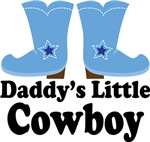 Daddy's Little Cowboy Kids Tee Shirts