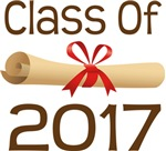 2017 School Class Diploma Design Gifts