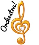 Orchestra Music Treble ClefGifts and T-shirts