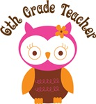 6th Grade Teacher Gift T-shirts and Mugs