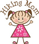 Hiking Mom T-shirt Gifts