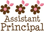 Assistant Principal Daisy Flower T-shirts