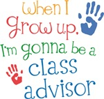 Future Class Advisor Kids T-shirts